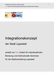 Integrationskonzept der Stadt Lippstadt - Zuhause im Kreis Soest