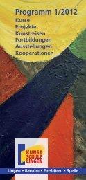 Besondere Angebote - Kunstschule Lingen