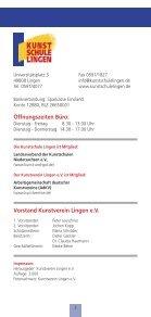 Besondere Angebote - Kunstschule Lingen - Seite 2