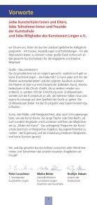 Besondere Angebote - Kunstschule Lingen - Seite 4