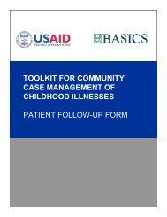 Patient Follow-up Form - basics