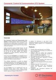Command, Control & Communication (C3) System - ST Electronics