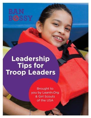 BanBossy_Leadership_Tips_for_Troop_Leaders