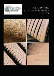 Perforált bőr - Autoleder