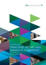 Directors' report and financial statements - Esh Group