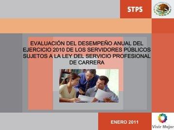 evaluado - dgrh dirección del servicio profesional de carrera