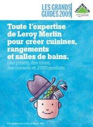 Guide cuisines, rangements, salles de bains, je-refais ... - Leroy Merlin