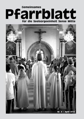 Pfarrblatt Nr. 4 - Pfarrei Heitenried