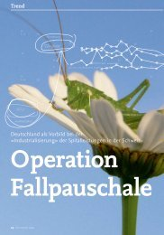 Trend - Operation Fallpauschale - solutionproviders