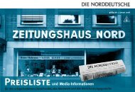 Preisliste und Media-Informationen - Weser Kurier