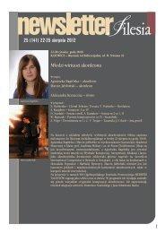 25 (141) 22-25 sierpnia 2012 1 - Silesia