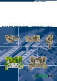 PLuggAbLE TENSION-SPRINg CONNECTION ... - CONTA-CLIP