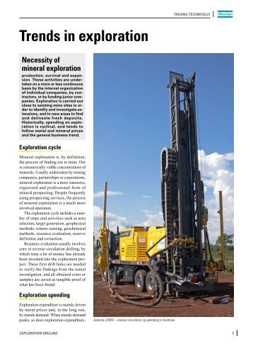 Full article - Atlas Copco Geotechnical Drilling and Exploration