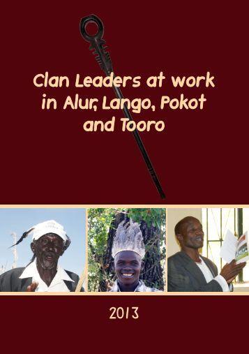 Clan Leaders at work, 2013 - Cross-Cultural Foundation of Uganda ...