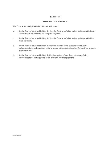 California Partial Release And Waiver Of Liens (conditional