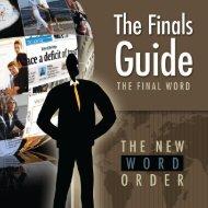 Finals Guide - ECA Marketing