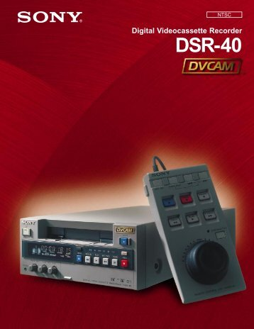 DSR-40 Brochure - SIM Digital