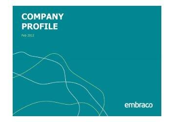 Company Profile Engl Feb 2012 [Modo de Compatibilidade] - Embraco