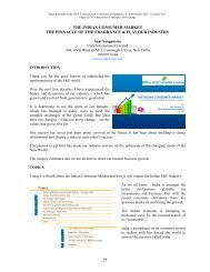 THE INDIAN CONSUMER MARKET THE PINNACLE OF ... - IFEAT