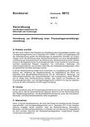 Verordnung über die Finanzanlagenvermittlung