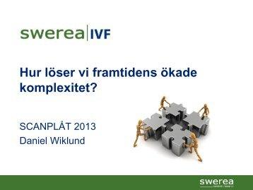 Daniel Wiklund, Swerea Virtual Lab, Swerea IVF (PDF-dokument, 2