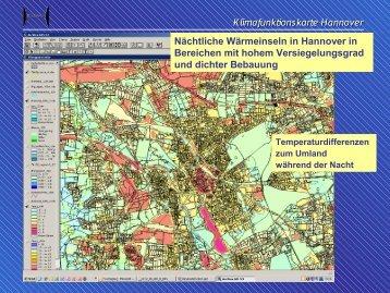 Die Klimkarten von Hannover