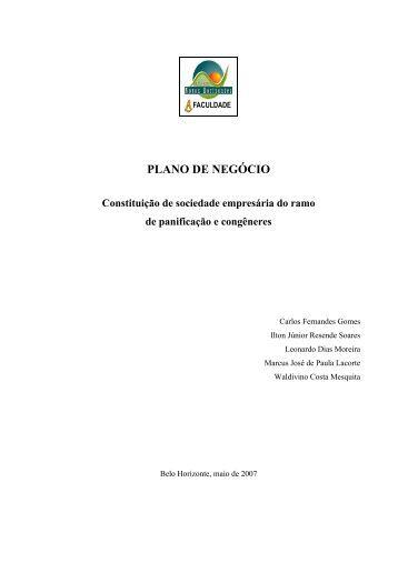 Plano de negocios sebrae sp pdf