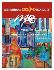 Download the Vignettes PDF document here - Mississippi's Creative ...