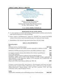 ashraf nabiel abdalla abdrabo - Science Development Network