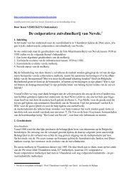 De coöperatieve zuivelmelkerij van Nevele.1 - Zuivelhistorie ...
