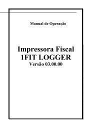 Impressora Fiscal 1FIT LOGGER