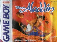Manuel Aladdin (Game Boy) - Oldies Rising