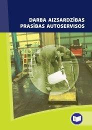 darba aizsardzības prasības autoservisos - Eiropas darba drošības ...