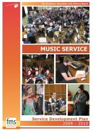MUSIC SERVICE - Southern Education and Library Board