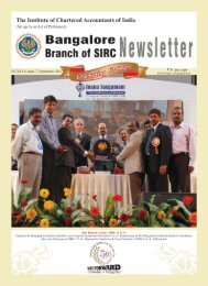 September & October 2011 - Bangalore Branch of SIRC