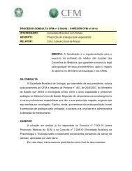 EMENTA - Conselho Federal de Medicina