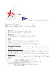 Segelanweisungen 2012 - Starfleet-luv.ch