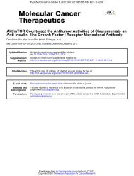 like Growth Factor I Receptor Monoclonal Antibody − Anti-Insulin Akt ...