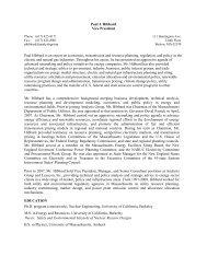 Paul Hibbard CV - Analysis Group