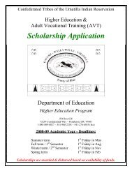Higher Education & Adult Vocational Training (AVT) - Confederated ...