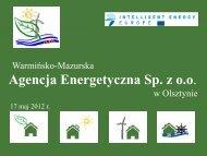 Agencja Energetyczna Sp. z oo - Promobio