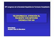 telefarmacia - Sociedad Española de Farmacia Hospitalaria