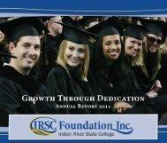 president's club – annual - IRSC Foundation
