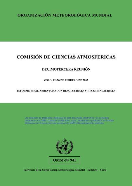 Comisión de ciencias atmosféricas - E-Library