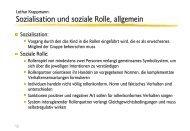 Lothar Krappmann: Sozialisation und soziale Rolle - Ploecher.de