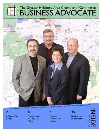 Business AdvoCATe - Hillsboro Chamber of Commerce