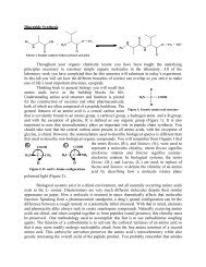 Peptide Synthesis - URI Department of Chemistry