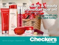 health & beauty promotion now on! - Find Specials