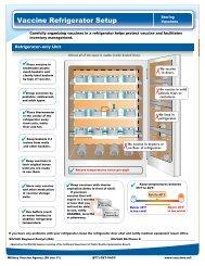Vaccine Refrigerator Setup - MILVAX