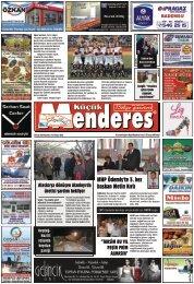 05 Ocak Tarihli Küçükmenderes Gazetesi